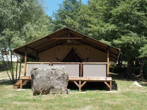 Camping Fougeraie (Nièvre,Morvan) : Lodge luxe bourgogne Fougeraie