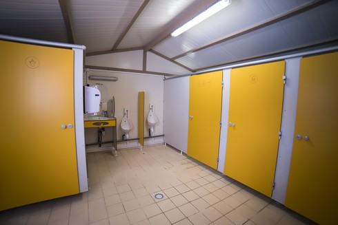 Sanitaires Camping Fougeraie bloc 2 Homme cabine