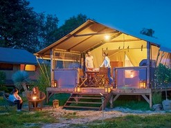 Lodge Nature Luxe au camping Fougeraie