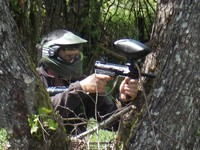 Camping Sites et Paysages Etang de la Fougeraie (Nièvre,Morvan) : Paintball