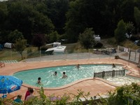Camping Fougeraie (Nièvre,Morvan) : Das Schwimmbad